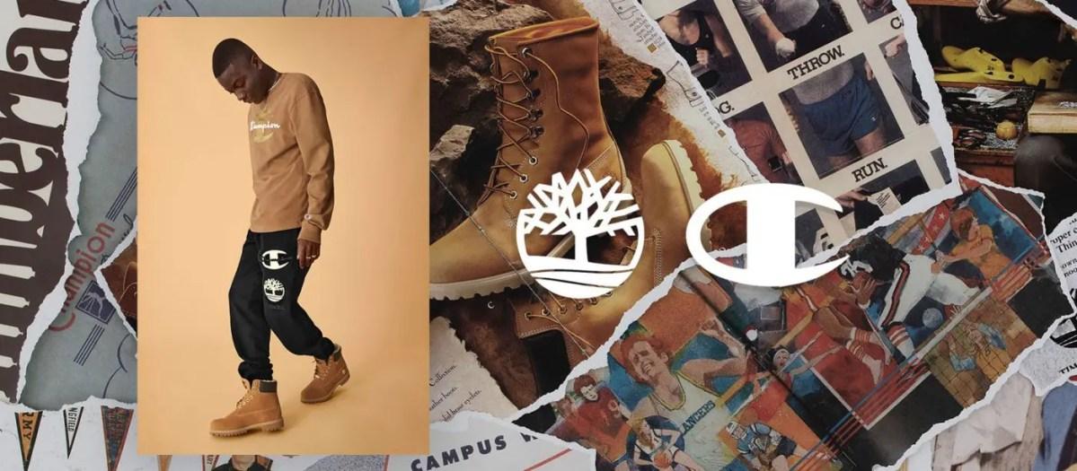 """注目のコラボ!【Timberland × Champion】ティンバーランド × チャンピオンが""""Luxe Pack""""と""""Sport Pack""""で秋冬ルックを提案"""