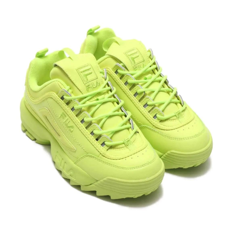 FILA Disruptor 2 Mono Neon Sneaker-13FILA Disruptor 2 Mono Neon Sneaker-13