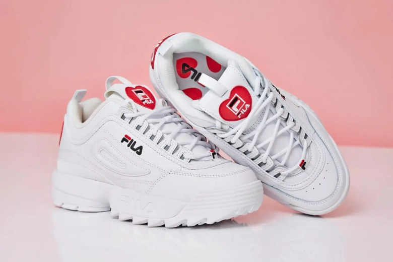 Fila Diruptor II White Heart Exclusive-01