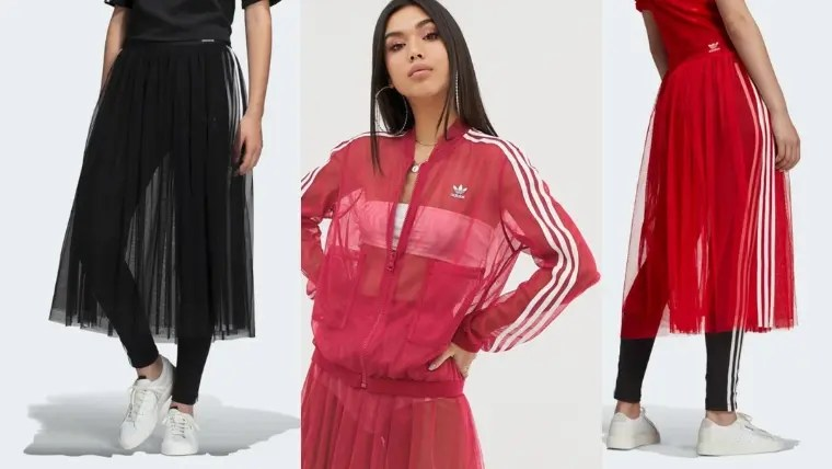 【adidas Originals (アディダス オリジナルス)】飽き知らずの万能アイテム!アディダス新作アイテム「チュールスカート」で春のコーディネートをアップデート