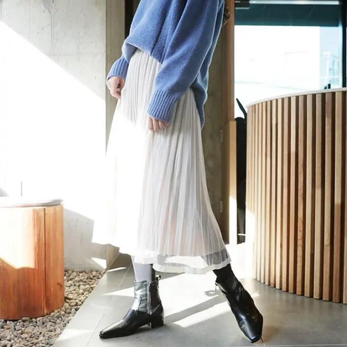D-holic tulle skirt-02