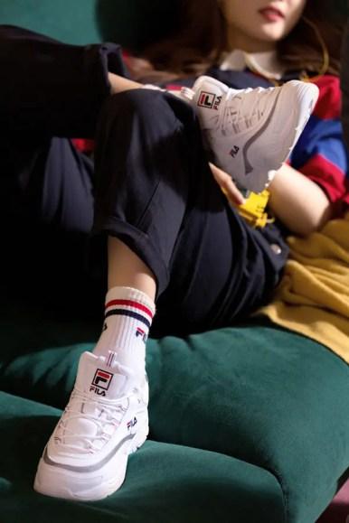 FILA ray sneaker white-02