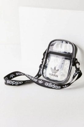 adidas Originals Clear Festival Crossbody Bag Black-02