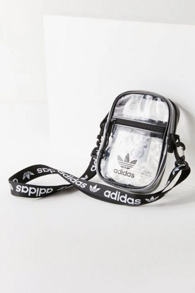 adidas Originals Clear Festival Crossbody Bag Black-02