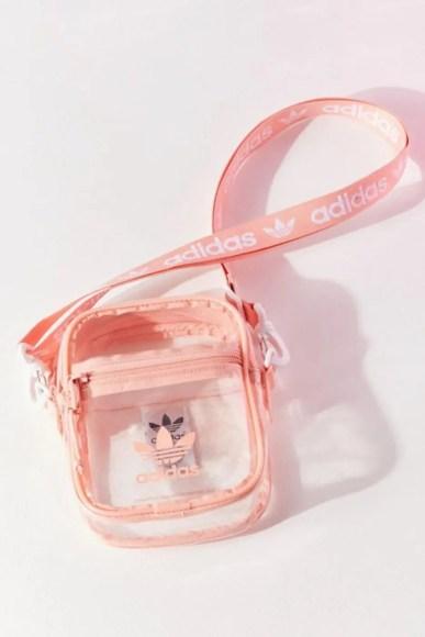 adidas Originals Clear Festival Crossbody Bag Pink-01