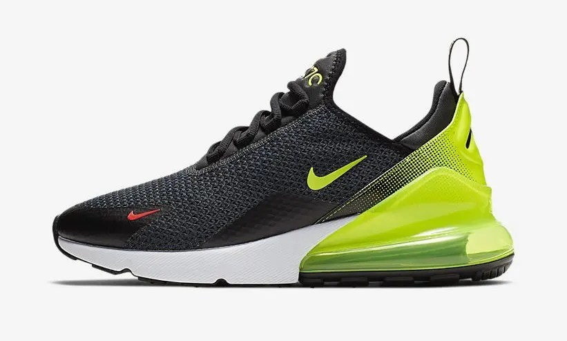 "NIKE AIR MAX 270 RF ""Anthracite Vlot Black Bright Crimson"" AQ9164-005-02"