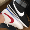 Nike CORTEZ White and Black for Couple
