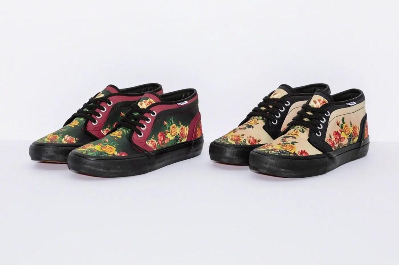 Supreme Week 7 Jean Paul Gaultier Vans Floral Print Chukka Pro