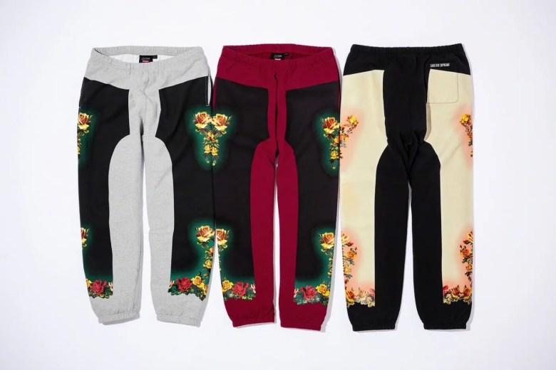 Supreme Week7 Jean Paul Gaultier Floral Print Sweatpant