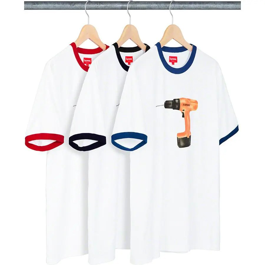 Supreme_2019ss_week 9 _drill_ringer_tee