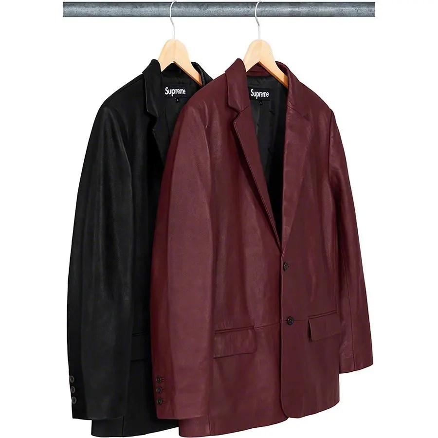 Supreme_2019ss_week 9 _leather_blazer