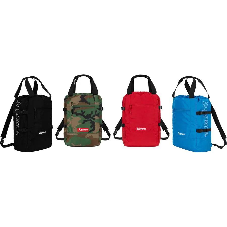 Supreme_2019ss_week 9 _tote_backpack