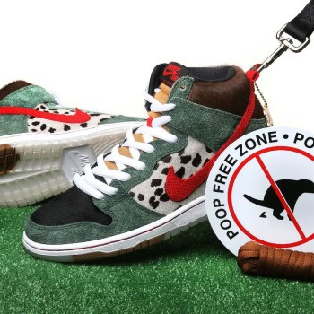 "Nike SB Dunk High ""Dog Walker"""