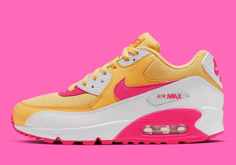 nike-air-max-90-womens-yellow-pink-white-325213-7022 (1)