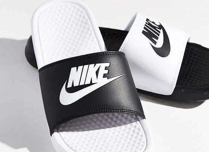 Nike Benassi Black and White-01