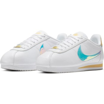 Nike Classic Cortez Sneaker White Clear Topaz Gold-01