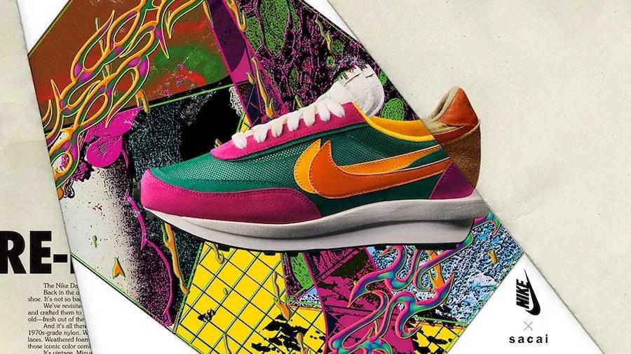 sacai-Nike-LDWaffle-Pink-Green-Release-Date