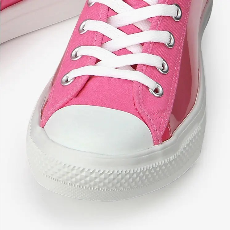 Converse All Star Light Clear Material Hi Pink 3