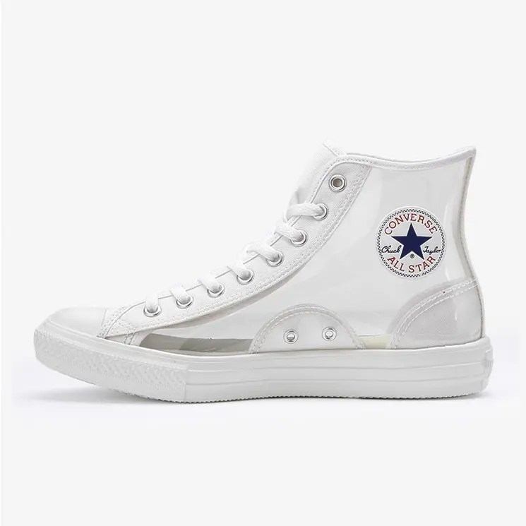 Converse All Star Light Clear Material Hi White 1