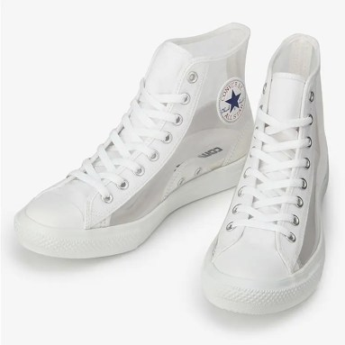 Converse All Star Light Clear Material Hi White 6
