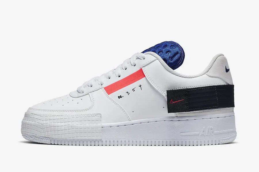 Nike-Air-Force-1-AF1-Low-Type-White-Red-Orbit-Black-CI0054-100-Release-Date