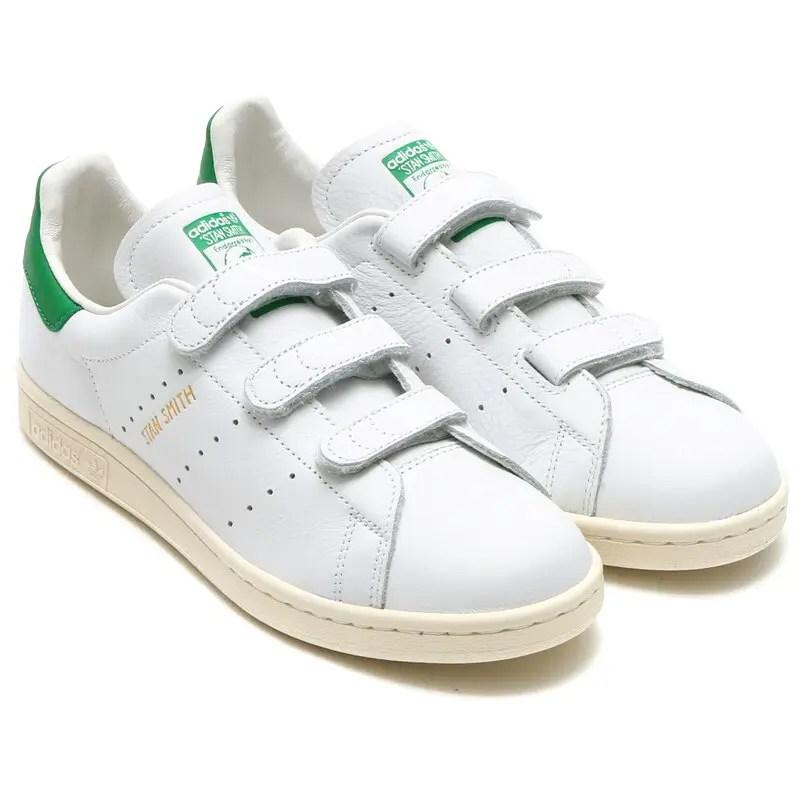 adidas STAN SMITH CF White Green AQ3191-01