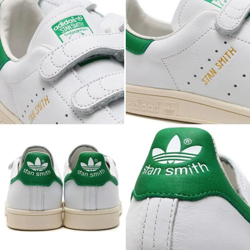 adidas STAN SMITH CF White Green AQ3191-04