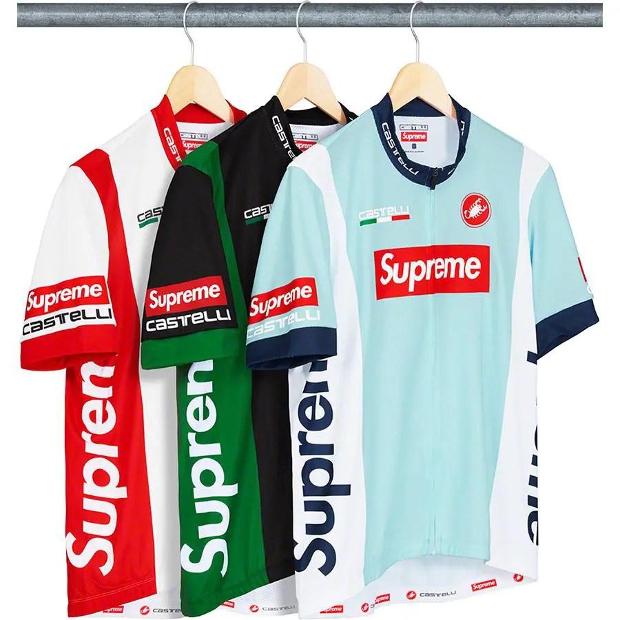 supreme 19ss week 17 Supreme Castelli Cycling Jersey