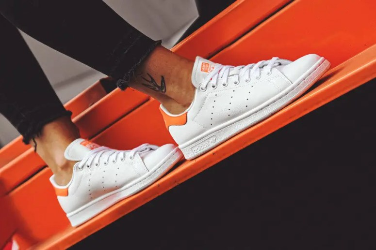 adidas originals stan smith orange EE5863-01