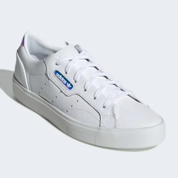 adidas sleek shoes Cloud White Crystal White Core Black EG2685-03