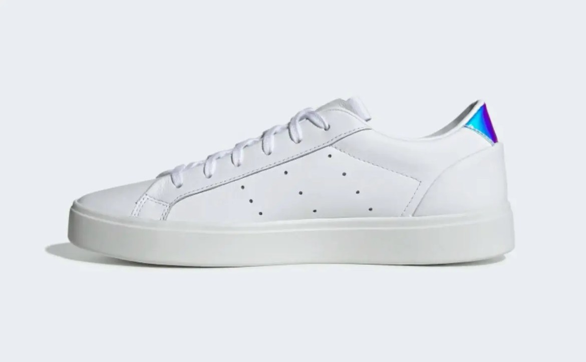 adidas sleek shoes Cloud White Crystal White Core Black EG2685-05