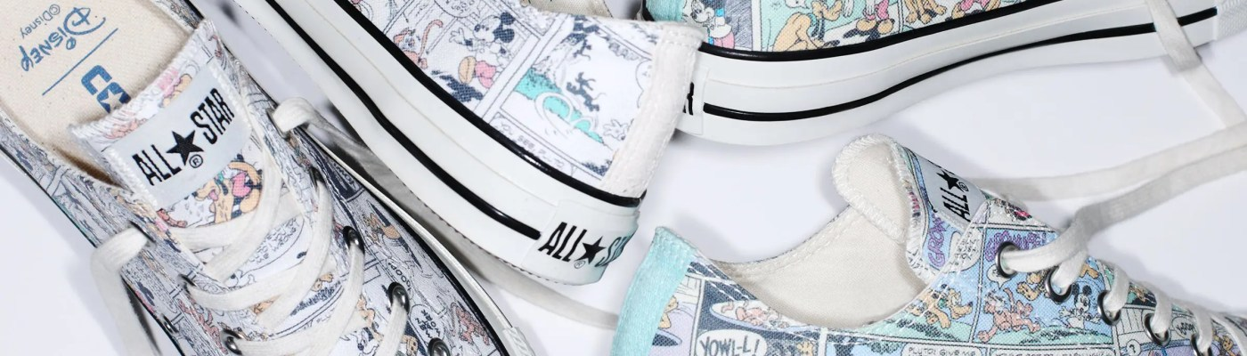 CONVERSE DISNEY ALL STAR MICKEY MOUSE LOCALIZE OX-09