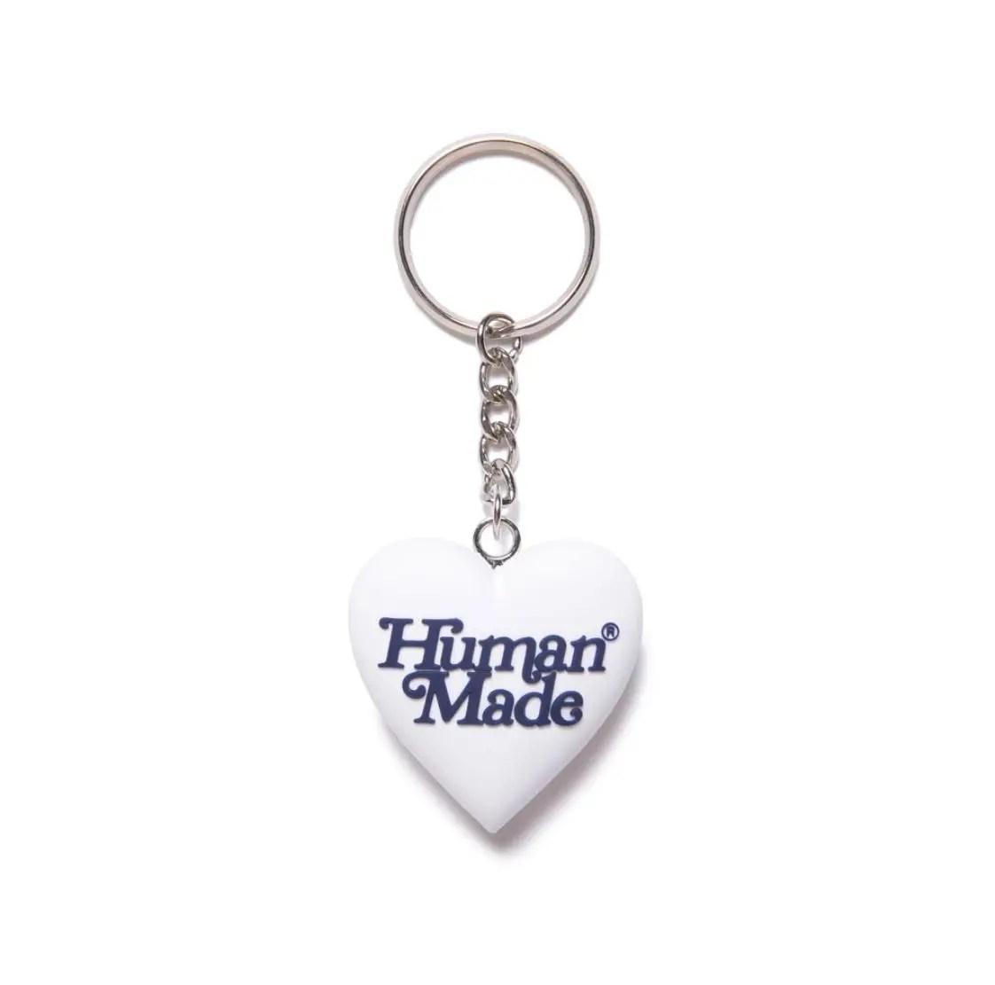 Human made x Girls Don't Cry 3D HEART KEYHOLDER GDC