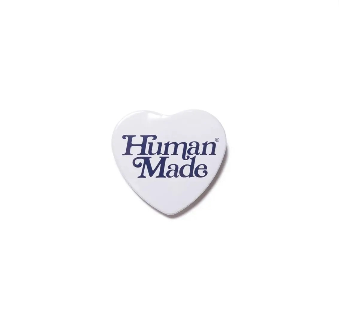 Human made x Girls Don't Cry HEART BADGE GDC