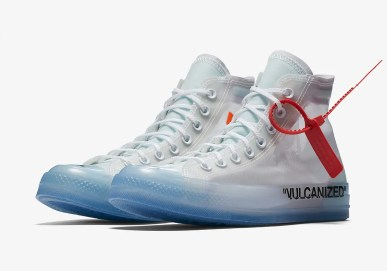 Off-White x Converse Chuck 70 All Stars White