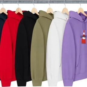 Supreme Cone Hooded Sweatshirt 2019AW Week 1 -02