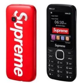 Supreme Supreme BLU Burner Phone 2019AW Week 1