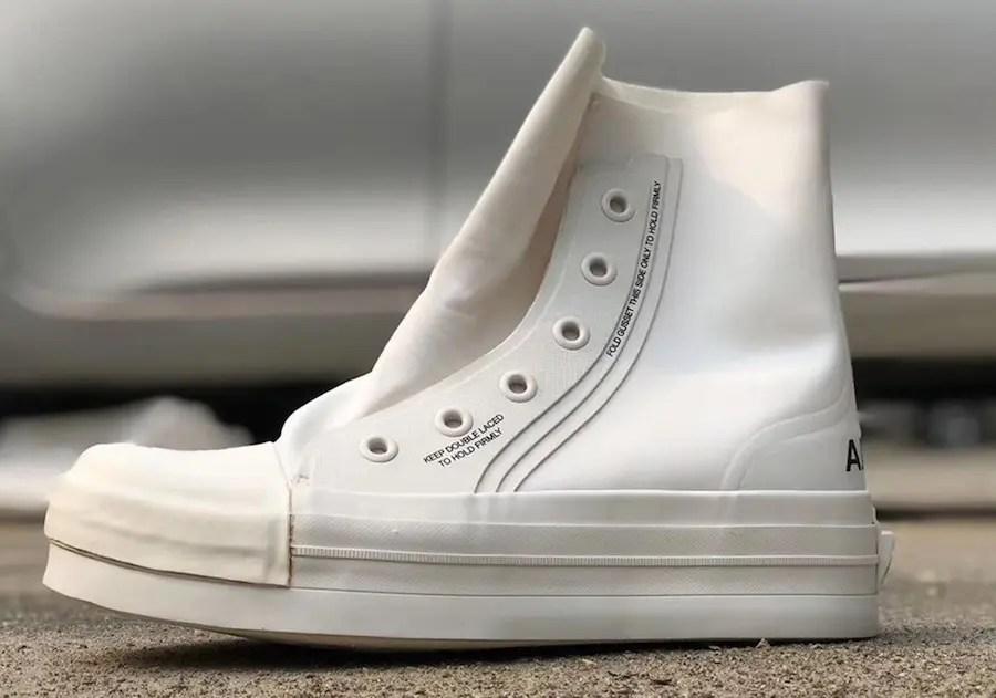 AMBUSH Converse Chuck Taylor Hi White アンブッシュ コンバース コラボ 新作 2019年 チャック テイラー ハイ ホワイト