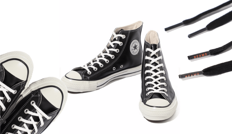BEAMS x Converse All Star Hi Leather-12