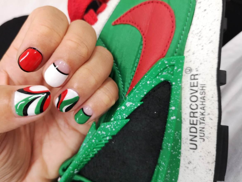 ネイルとスニーカー:Nail x Undercover_Nike_Daybreak