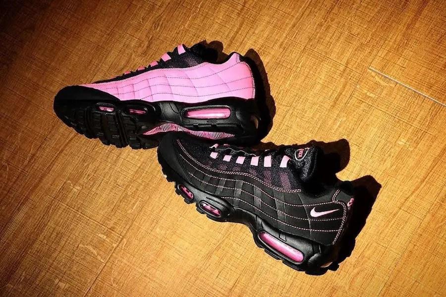 ナイキ エア マックス 95 ブラック ピンク (Nike Air Max 95 Black Pink)