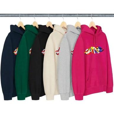 Delta Logo Hooded Sweatshirt (via Supreme NYC) 2019年 秋冬 新作 Week 4