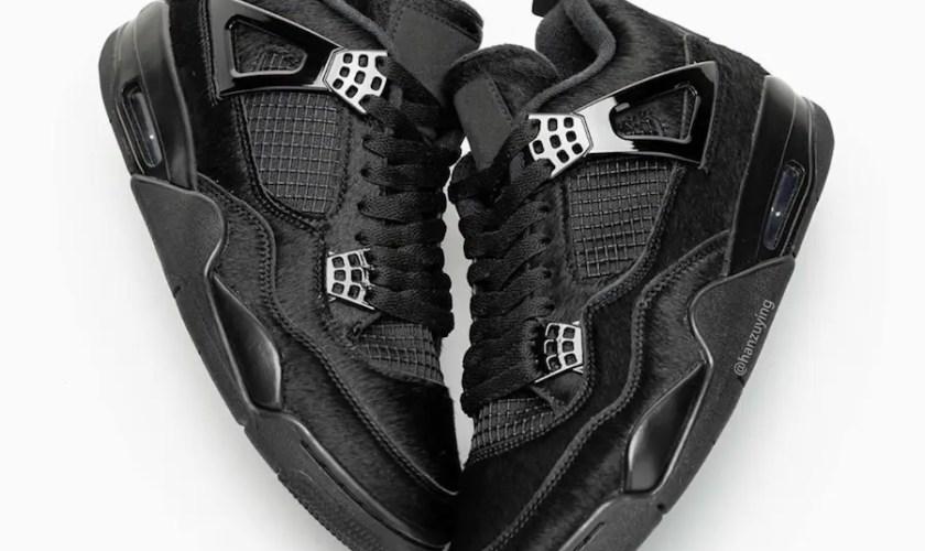 "Nike WMNS Air Jordan 4 ""Black Cat"" (ナイキ ウィメンズ エア ジョーダン 4 ""ブラック キャット"")"