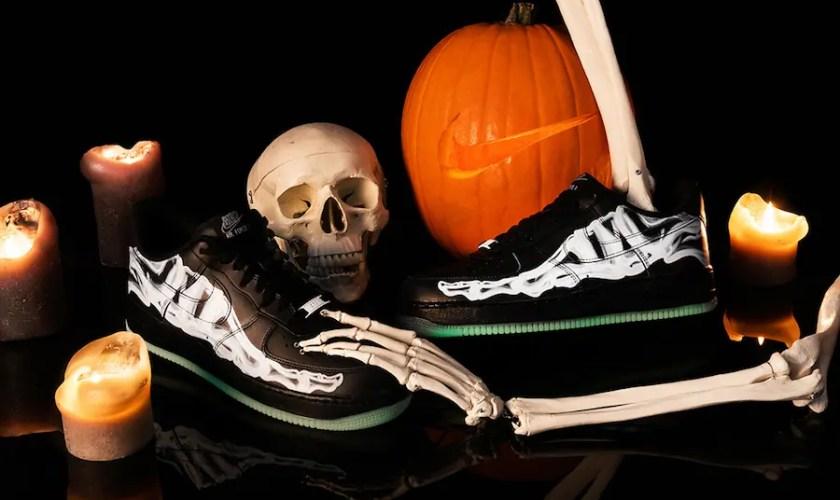 "Nike Air Force 1 Low ""Black Skeleton"" (ナイキ エア フォース 1 ロー ""ブラック スケルトン"")"
