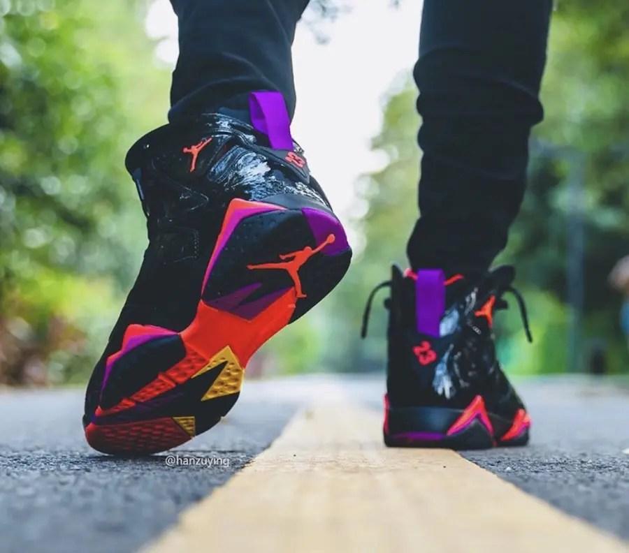 "Nike WMNS Air Jordan 7 ""Black Patent Leather"" (ナイキ ウィメンズ エア ジョーダン 7 ""ブラック パテントレザー"")"