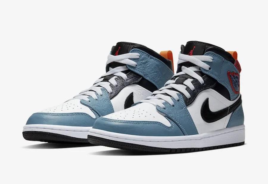 """Facetasm x Nike Air Jordan 1 Mid """"Fearless"""" (ファセッタズム × ナイキ エア ジョーダン 1 ミッド """"フィアレス"""")"""