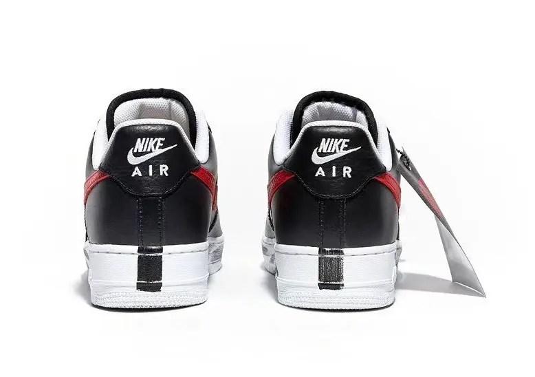 PEACEMINUSONE x Nike Air Force 1 (ピースマイナスワン × ナイキ エア フォース 1) レッド スウォッシュ 韓国 限定