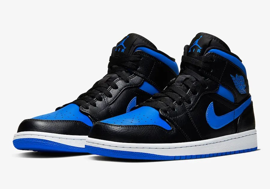 "Nike Air Jordan 1 Mid ""Royal"" (ナイキ エア ジョーダン 1 ミッド ""ロイヤル"") 554724-068"