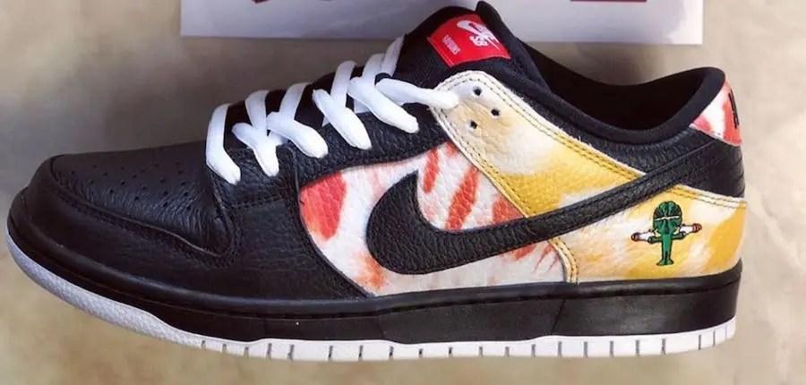"""Nike SB Dunk Low """"Raygun Tie-Dye"""" (ナイキ SB ダンク ロー """"レイガン タイダイ"""") BQ6832-001"""