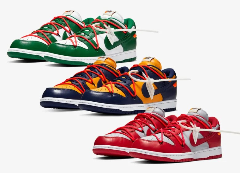 Off-White × Nike Dunk Low Collection  オフホワイト × ナイキ ダンク ロー コレクション